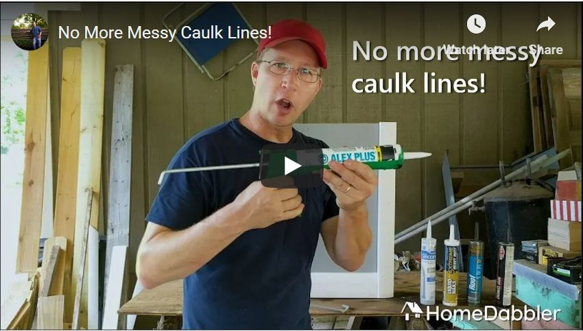 caulk lines